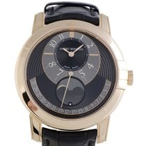 Harry Winston Midnight Moon Phase Automatic Watch MIDAMP42RR002