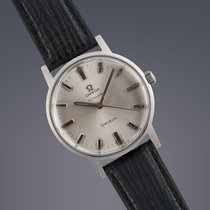 Omega Geneve 'Turler' stainless steel manual watch