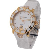 Ulysse Nardin 8106-101E-3C/10 Lady Marine Diver - Rose Gold on...