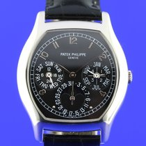 Patek Philippe Perpetual Calendar rare Platinum Black dial