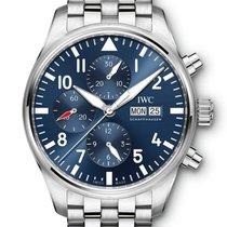 IWC Pilot Chronograph Acél 43mm Kék Arab Magyarország, Budapest