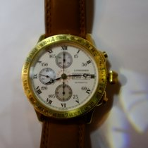 Longines Yellow gold Automatic Gold (solid) 42mm pre-owned Lindbergh Hour Angle