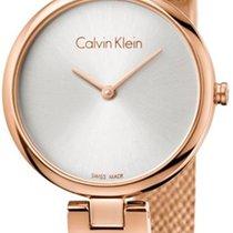 ck Calvin Klein Steel 28mm Quartz K8G23626 new