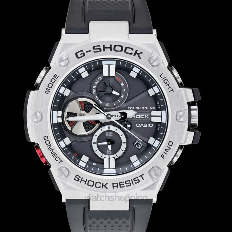 b248ab051b9f Casio G-Shock G-Steel GST-B100-1AJF - GST-B100-1AJF for $399 for sale from  a Trusted Seller on Chrono24
