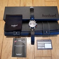 Hanhart Chronograph 40mm Automatic new Pioneer Black