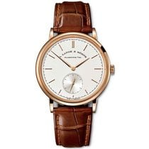 A. Lange & Söhne Saxonia Rose gold 38.5mm Silver No numerals United States of America, New York, New York