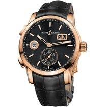 Ulysse Nardin 3346-126/92 Rose gold Dual Time 42mm new