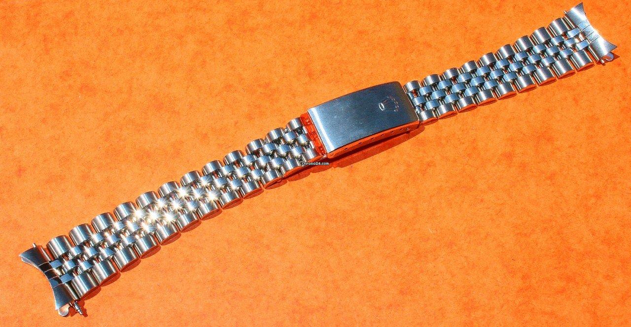 Rolex steel bracelet Jubilee ref. 63110,D clasp DT8 17mm