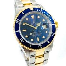 Rolex Submariner Date aus 1988  L Serie  Amazing Blue Dial