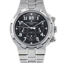 Vacheron Constantin 40mm Automatic 2011 pre-owned Overseas Chronograph Black