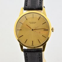 Universal Genève 31mm Manual winding 1960 pre-owned Gold