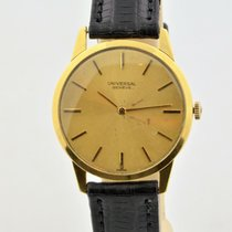 Universal Genève Yellow gold 31mm Manual winding pre-owned