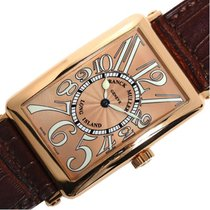 Franck Muller 30mm Automatic pre-owned Long Island Pink