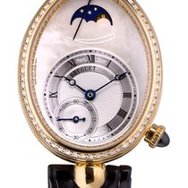 Breguet 8908BA/52/864/D00D Yellow gold Reine de Naples 28.45mm pre-owned