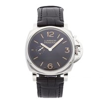 Panerai Luminor Due Steel 42mm Black Arabic numerals