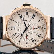 Ulysse Nardin Marine Chronograph новые Автоподзавод Часы с оригинальными документами и коробкой 1532-150/40