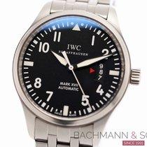 IWC Fliegeruhr Mark Stahl 41mm Schwarz Arabisch Deutschland, München