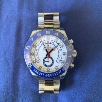 Rolex Yacht-Master II Staal 44mm Wit