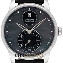 Union Glashütte Acciaio 36mm Automatico D013.228.16.121.00 nuovo