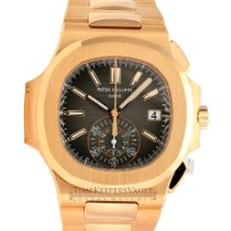 Patek Philippe Nautilus Rose gold 40.5mm Black No numerals United States of America, California, Sherman Oaks