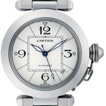 Cartier Pasha C new Automatic Watch with original box W31074M7
