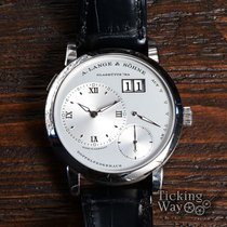 A. Lange & Söhne Lange 1 White gold 38.5mm Silver United States of America, California, Irvine