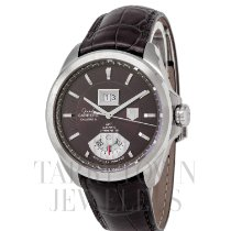 TAG Heuer Grand Carrera Steel 43mm Brown United States of America, New York, Hartsdale