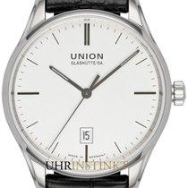 Union Glashütte Viro Date Steel 41mm Silver