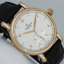 Chronoswiss Sirius Rose gold 40mm Silver Arabic numerals
