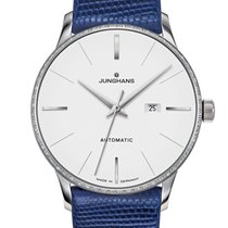 Junghans Meister 027/4846.00 Nuovo Acciaio 33.1mm Automatico