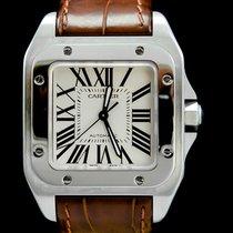 Cartier Santos 100 2878 Very good Steel 33mm Automatic