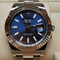 Rolex Datejust II Acero 41mm Azul Sin cifras España, Madrid