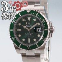 Rolex Automatik Grün 40mm gebraucht Submariner Date