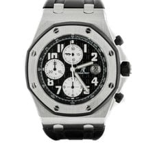 Audemars Piguet Offshore Stainless Steel Rubber bezel 42mm