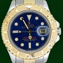 Ρολεξ (Rolex) Yachtmaster 69623 18k Gold Steel Blue Dial...