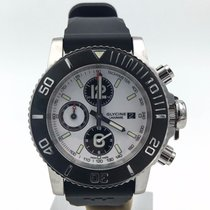 Glycine Lagunare Chrono On Rubber Strap Complete Set Ref:...