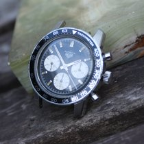 Heuer Vintage Autavia from 1969 with valjoux 72 three register