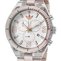 Adidas Cambridge Chrono Rose Gold Aluminum Band Unisex Watch...