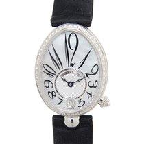 宝玑 Reine De Naples 18k White Gold With Diamond White Automatic...