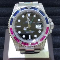 Rolex GMT-Master II - Pepsi Diamonds