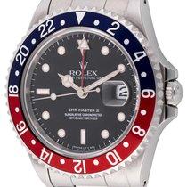Rolex : GMT-Master II :  16710 :  Stainless Steel : black...