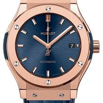Hublot Classic Fusion Blue Rose gold 45mm Blue No numerals United States of America, New York, New York