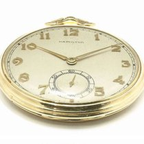 Hamilton Montre de poche occasion 44.5mm Or jaune 1942