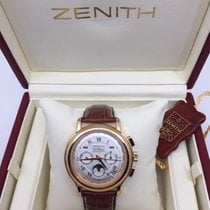 Zenith pre-owned Automatic 40mm Silver Sapphire Glass 1 ATM