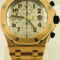 Audemars Piguet Royal Oak Offshore Chronograph Ouro rosa 42mm Branco Árabes