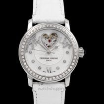 Frederique Constant Ladies Automatic Double Heart Beat Steel 34mm Mother of pearl United States of America, California, San Mateo