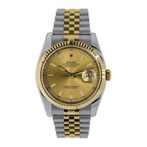 Rolex Datejust Gold/Steel 36mm Gold No numerals United States of America, New York, New York