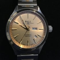 Ball Gull/Stål 40mm Automatisk NM2110C-2T-SJ-GO ny