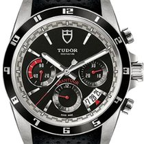 Tudor Grantour Chrono Steel 42mm Black Arabic numerals United States of America, California, Moorpark