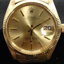 Rolex Oyster Perpetual Date Yellow gold 34mm Gold No numerals United States of America, Texas, Irving